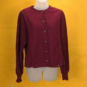 GEIGER VTG Women Jacket 100% wool size 44 casual